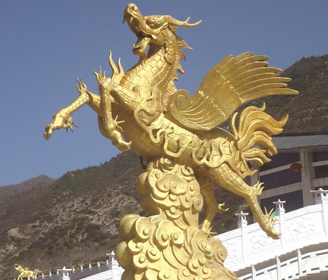 广场铸铁景观必威体育官网登录《天马》