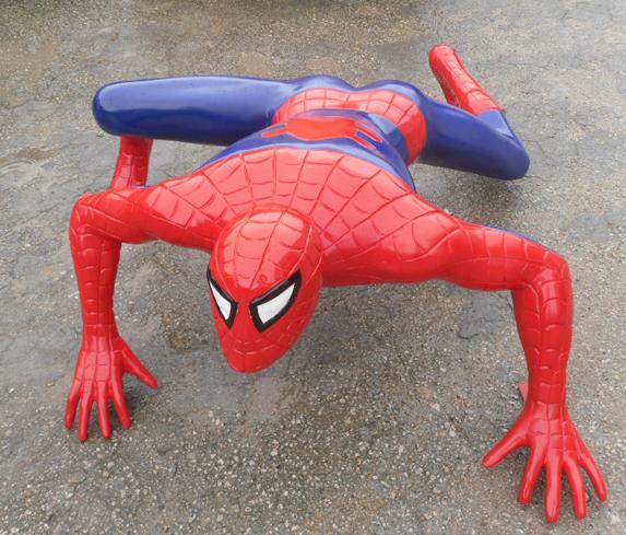 玻璃钢蜘蛛侠